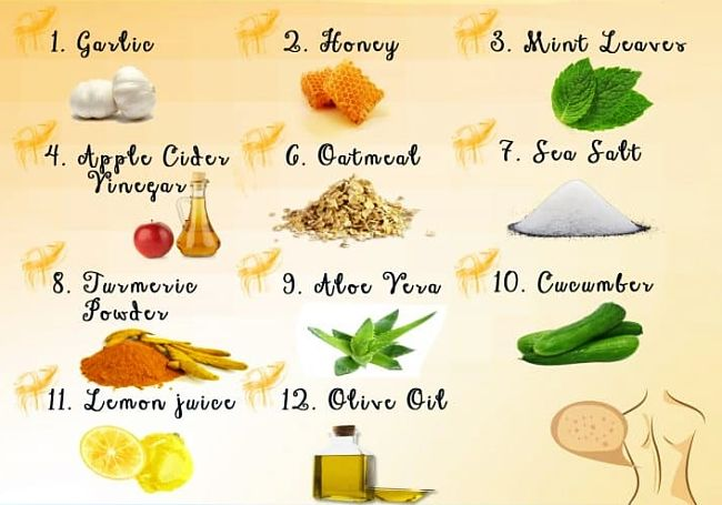 Twelve natural remedies for back acne. See the definite guide in this article