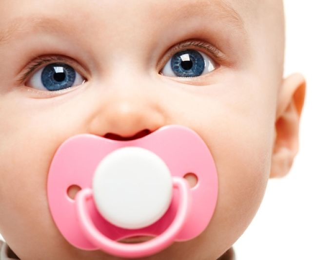 Many babies love their pacifiers