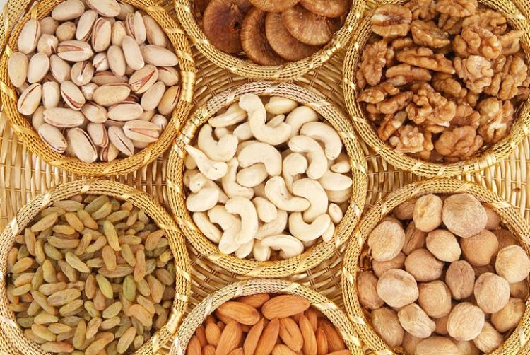 Nuts are often very expensive. It pays to know which ones provide the best bang for buck    in terms of nutrient variety and concentration. Nuts are nutritious and pair well with dried fruit in granola, baked items and as a snack food