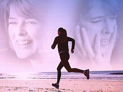 Running is a great way to overcome depression without drugs