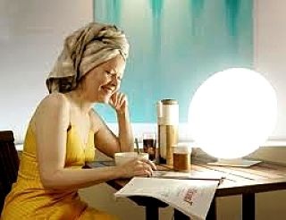 Building a short time under a bright light can be very beneficial for improving your mood and well being