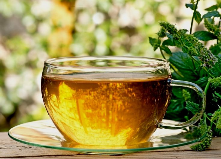 You can enhance the taste of a traditional Chamomile tea and increase the benefits by using fresh herbs and spices
