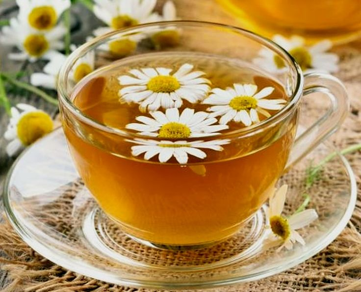 Add some fresh flowers to your Chamomile tea