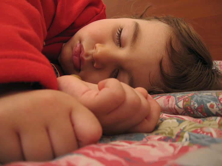 Behavior problems are sometimes triggered by children not getting enough sleep when their bedtime routines are disrupted.