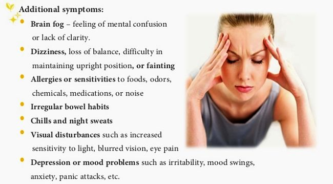 Chronic Fatigue Syndrome - Symptoms and Characteristics - Image 2