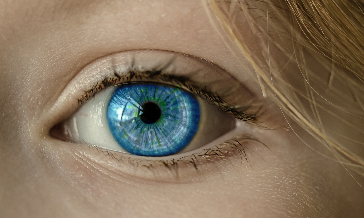 Beautiful healthy eyes are so attractive