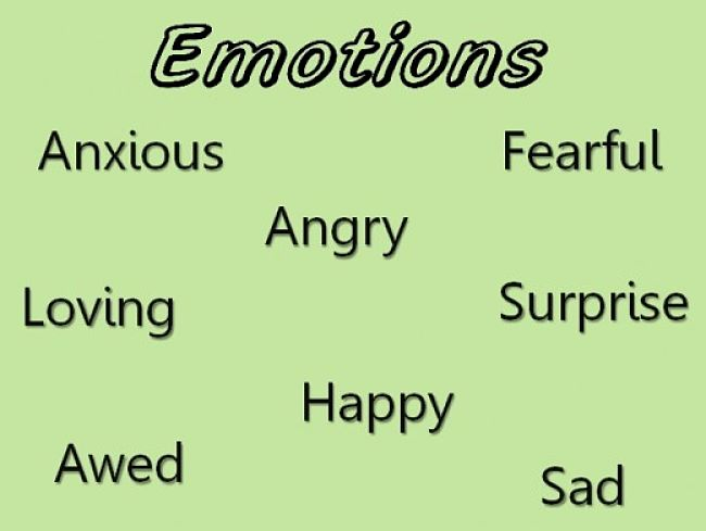 Controlling emotions is about not letting them control you