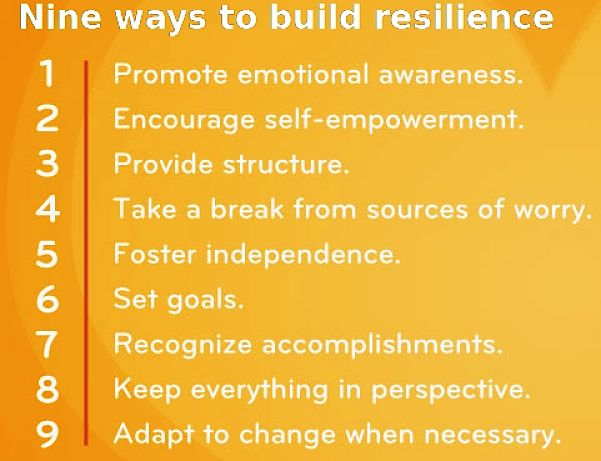 Nine ways to build Emotional Resilience