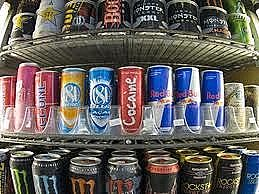 Energy drinks are widely advertised