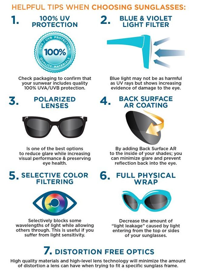 Tips for choosing sunglasses that are effective in protecting your eyes