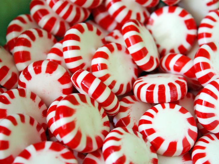 Mints and sweets can help relieve nausea symptoms.