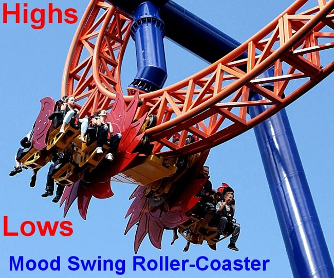 Mood Swings can be a Roller-Coaster Ride unless you take control