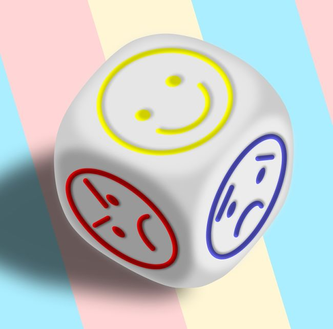 Mood Dice - Which one is it to be Today - toss and see what pops up