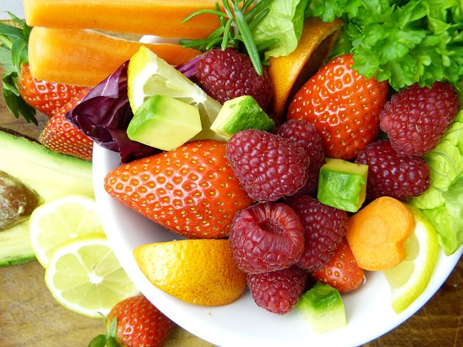 Fruit has many beneficial nutrients and is a natural source of fiber and minerals your body needs