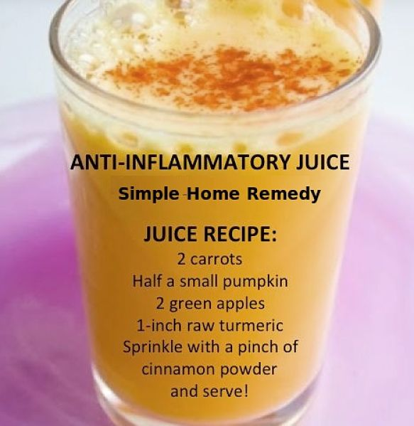 Simple natural remedy for joint pain based on Turmeric Curcumin