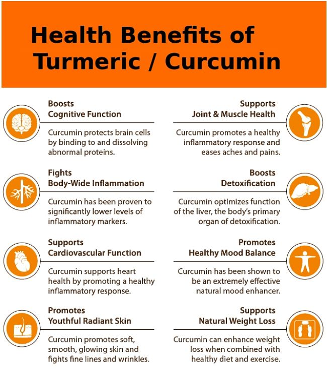 Health benefits if turmeric and its active ingredient -curcumin