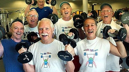 Regular exercise with weights is known to help prevent the loss of bone density