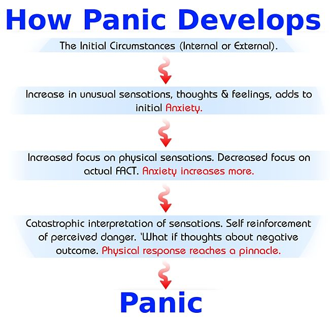 How Panic Develops