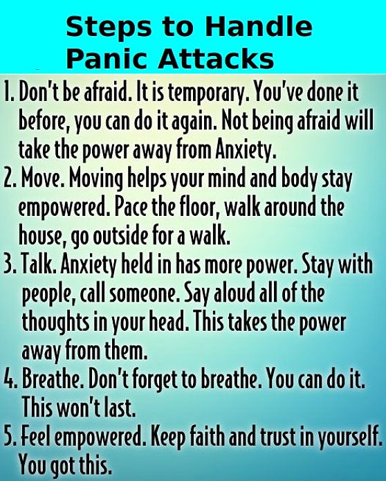 Symptoms of Panic Attacks