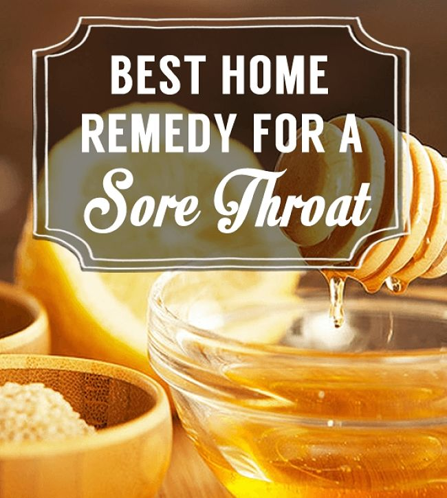 Best home remedies for sore throats