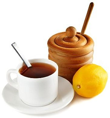 Warm drinks with honey and herbs can provide a simple relief